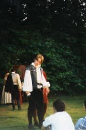 Tybalt in 'Romeo and Juliet', Oxford University, 1996