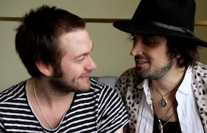 Kasabian's Tom and Serge in Belfast, August 2010