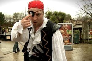 Legoland pirate