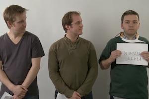 Matt Ryder goes for a casting