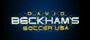David Beckham's Soccer USA logo