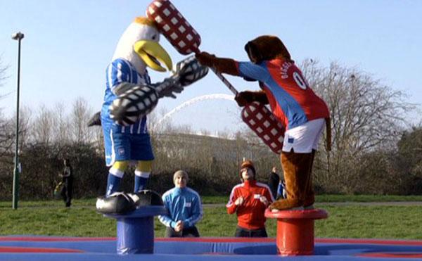 Mascot Mayhem on GoalMouth